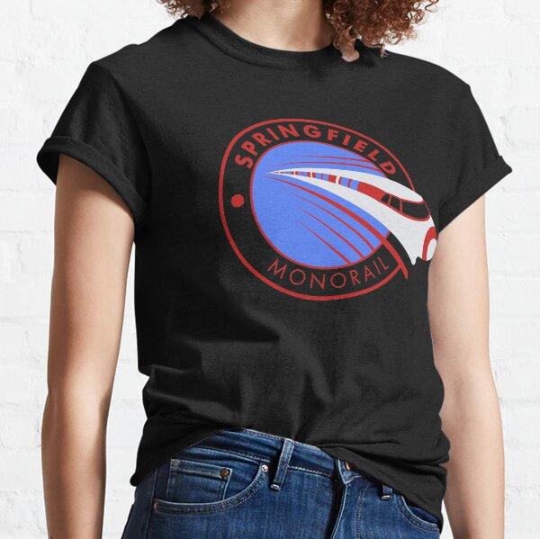 Springfield Monorail Classic T-Shirt