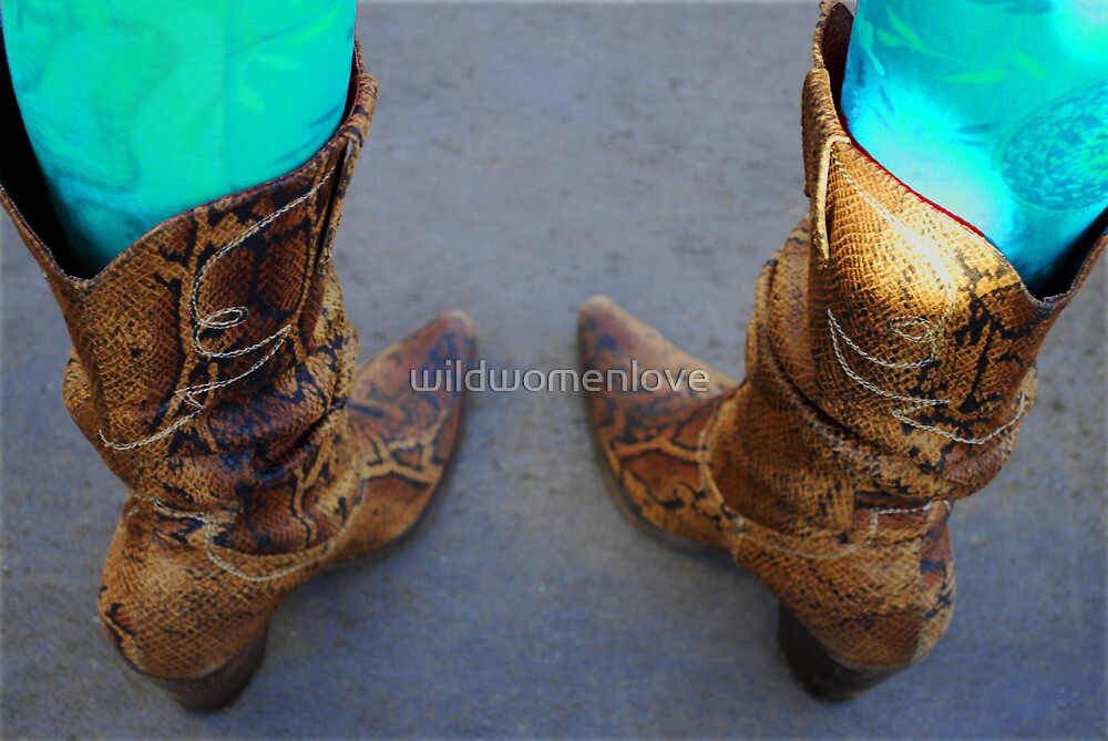 these boots... by wildwomenlove