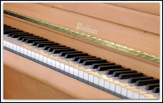 Piano Keys by BlueMoonRose