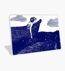 Die blau schimmernden Seelichter Laptop Folie