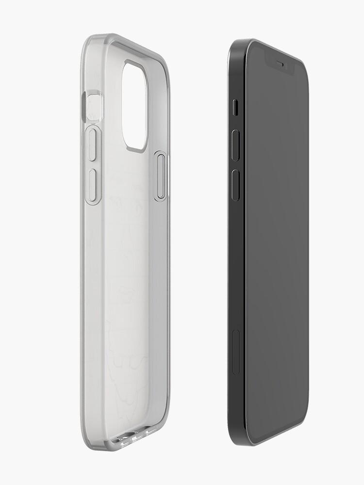 modèle formel de calvin klein   Coque iPhone