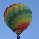 Hot Air Baloon by Damien Pearse