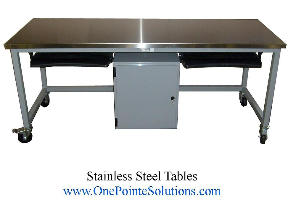 Stainless Steel Work Tables by onepointe1
