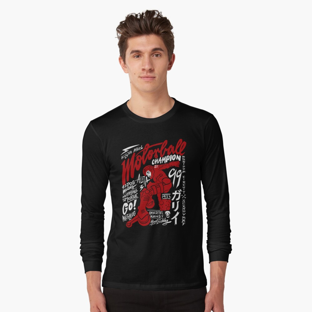 Motorball Alita  Long Sleeve T-Shirt