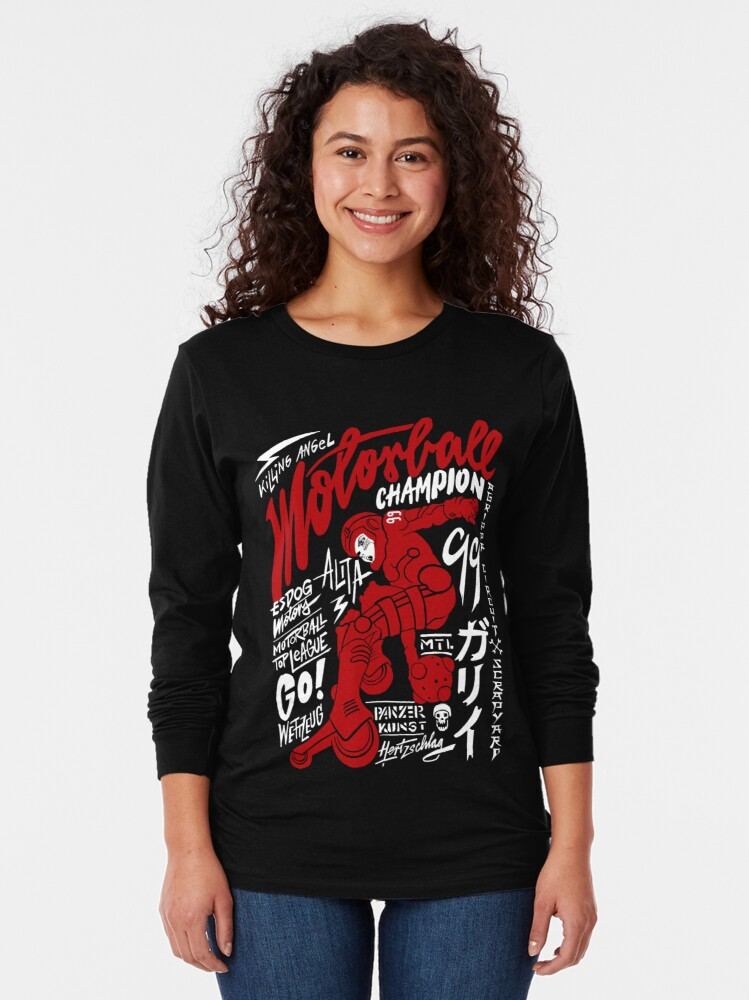 Alternate view of Motorball Alita  Long Sleeve T-Shirt