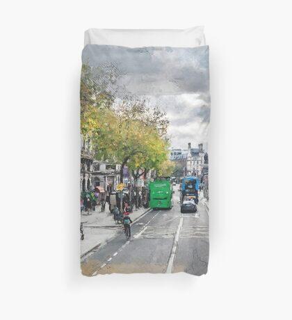 Dublin art #dublin Duvet Cover