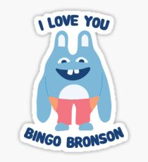 Bingo Bronson Sticker