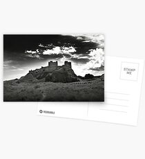 Bamburgh Castle in Northumberland, UK Postcards
