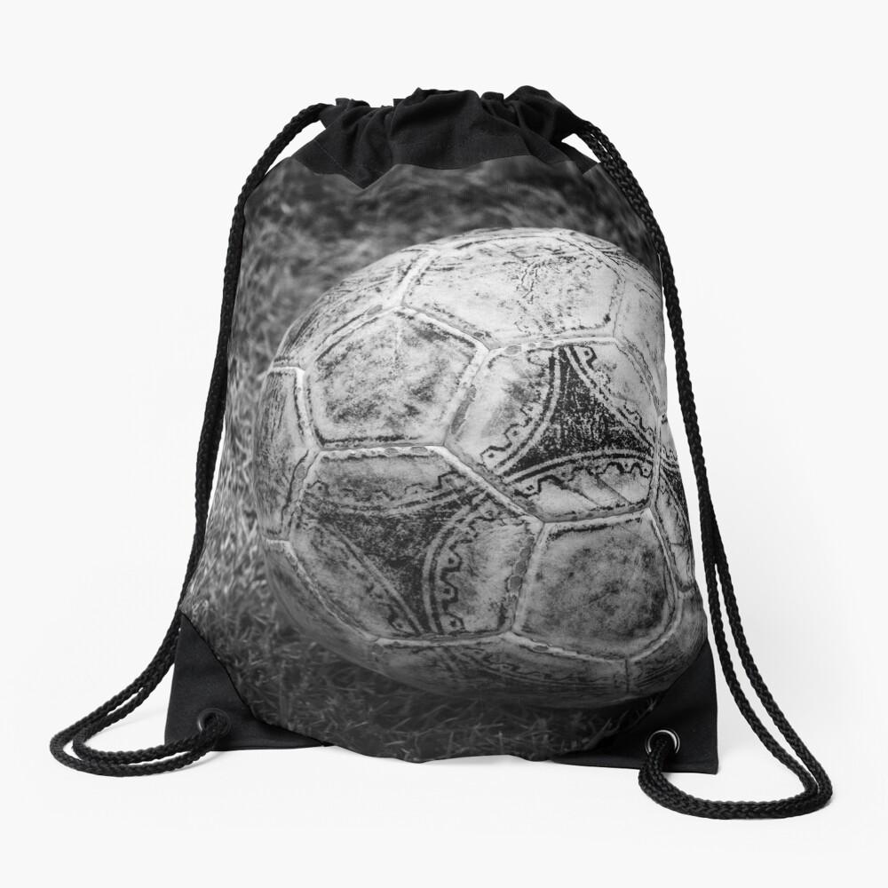 Soccer ball Drawstring Bag