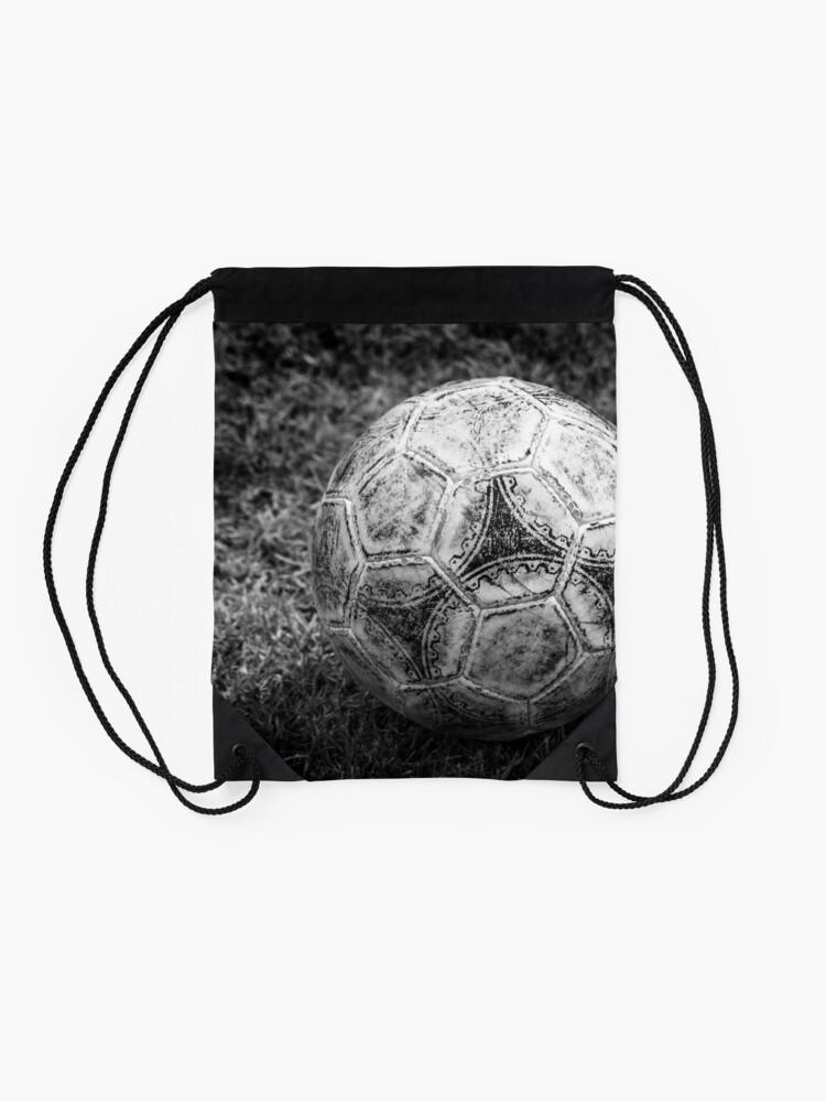 Alternate view of Soccer ball Drawstring Bag