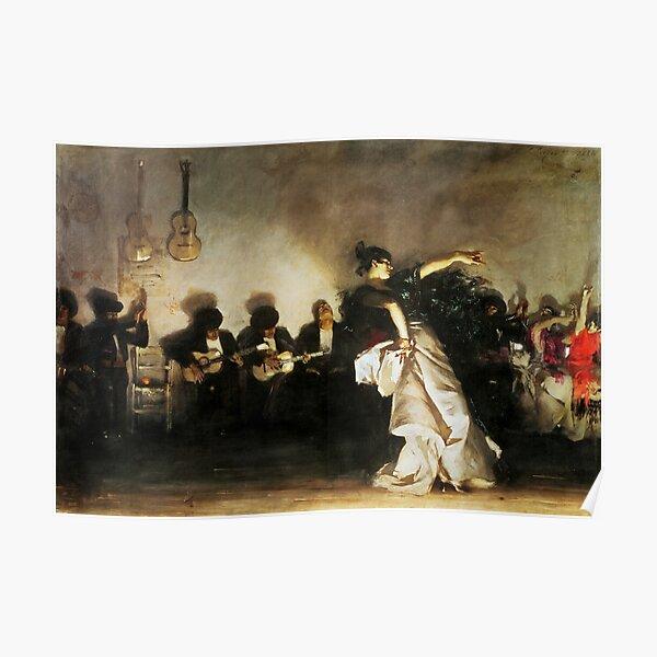 John Singer Sargent - El Jaleo Poster