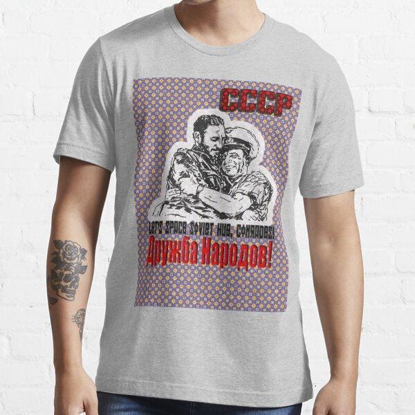 Let's Space Soviet Hug, Comrades! Essential T-Shirt
