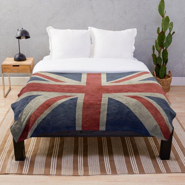 Union Jack Duvet Cover Throw Blanket