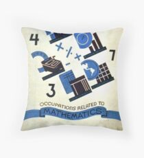 Math Occupations Premium Tee Floor Pillow