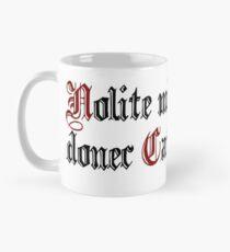 "Nolite mihi loqui donec Cafeam bibam (Latin: ""Don't talk to me before I drink coffee"") Classic Mug"