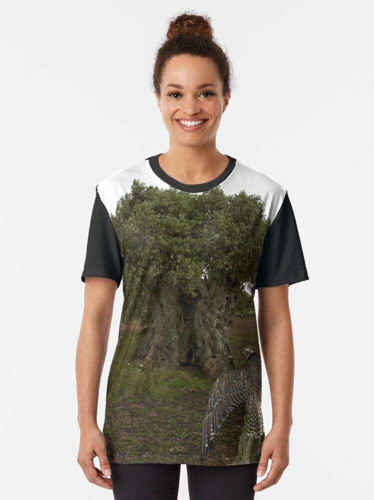 Alternative Ansicht von Der Tausendjährige Grafik T-Shirt