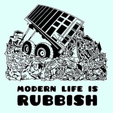 Desenfoque - La vida moderna es basura de jpearson980