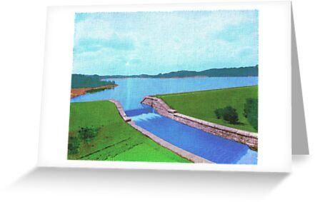 Ashland Reservoir, Ashland, Mass., 1893 by Cliff Wilson