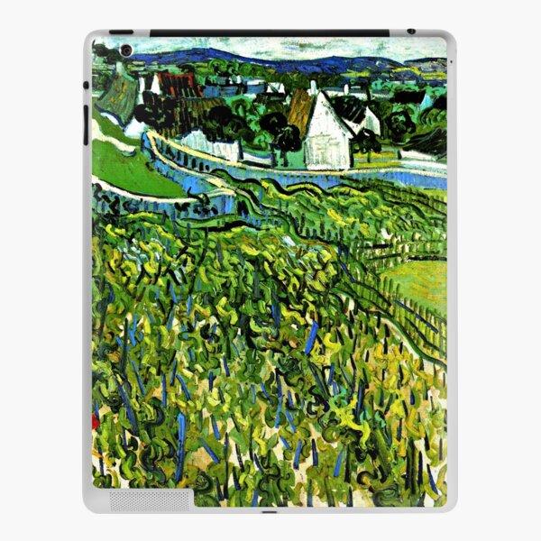 Van Gogh - Vineyards overlooking Auvers, 1890 iPad Skin