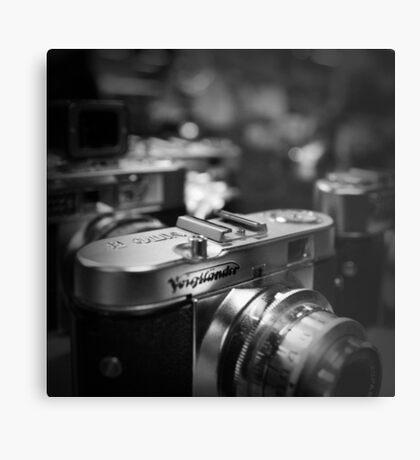 Aging Gracefully - Voigtlaender vintage camera Metal Print