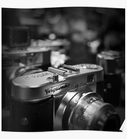 Aging Gracefully - Voigtlaender vintage camera Poster