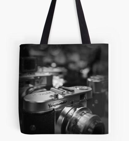 Aging Gracefully - Voigtlaender vintage camera Tote Bag