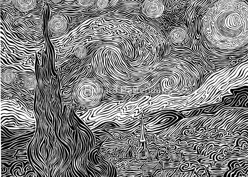 """Van Gogh's 'Starry Night' (1998)"" by Richard Pattenden"