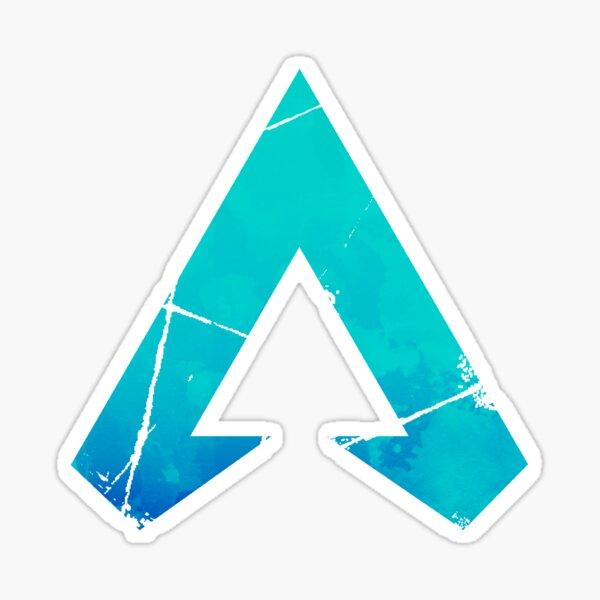 Apex Legends Logo | Apex Legends Colorflip Acuarela Símbolo Pegatina