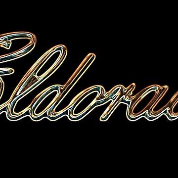 Eldorado Neon Glow badge-Caddy-Motor-Car by carlosafmarques