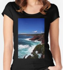 View From The Look-Out II Women's Fitted Scoop T-Shirt
