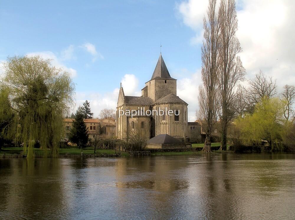 l'Eglise Jazeneuil by Pamela Jayne Smith