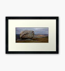 Cloughmore Stone, Rostrevor Framed Print