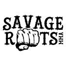 Savage Roots MMA Logo Black by SavageRootsMMA