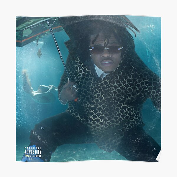 Gunna - Drip Gold Drown 2 cover Poster
