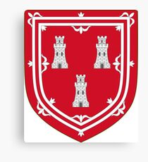Shield of the Arms of Aberdeen Canvas Print