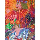 The Son is the King of the Man giclee with borders by Denise Weaver Ross