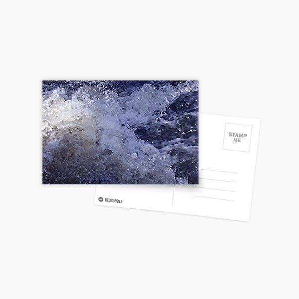 Splashing Water Postcard