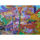 Four Corners of the Mind giclee borders by Denise Weaver Ross
