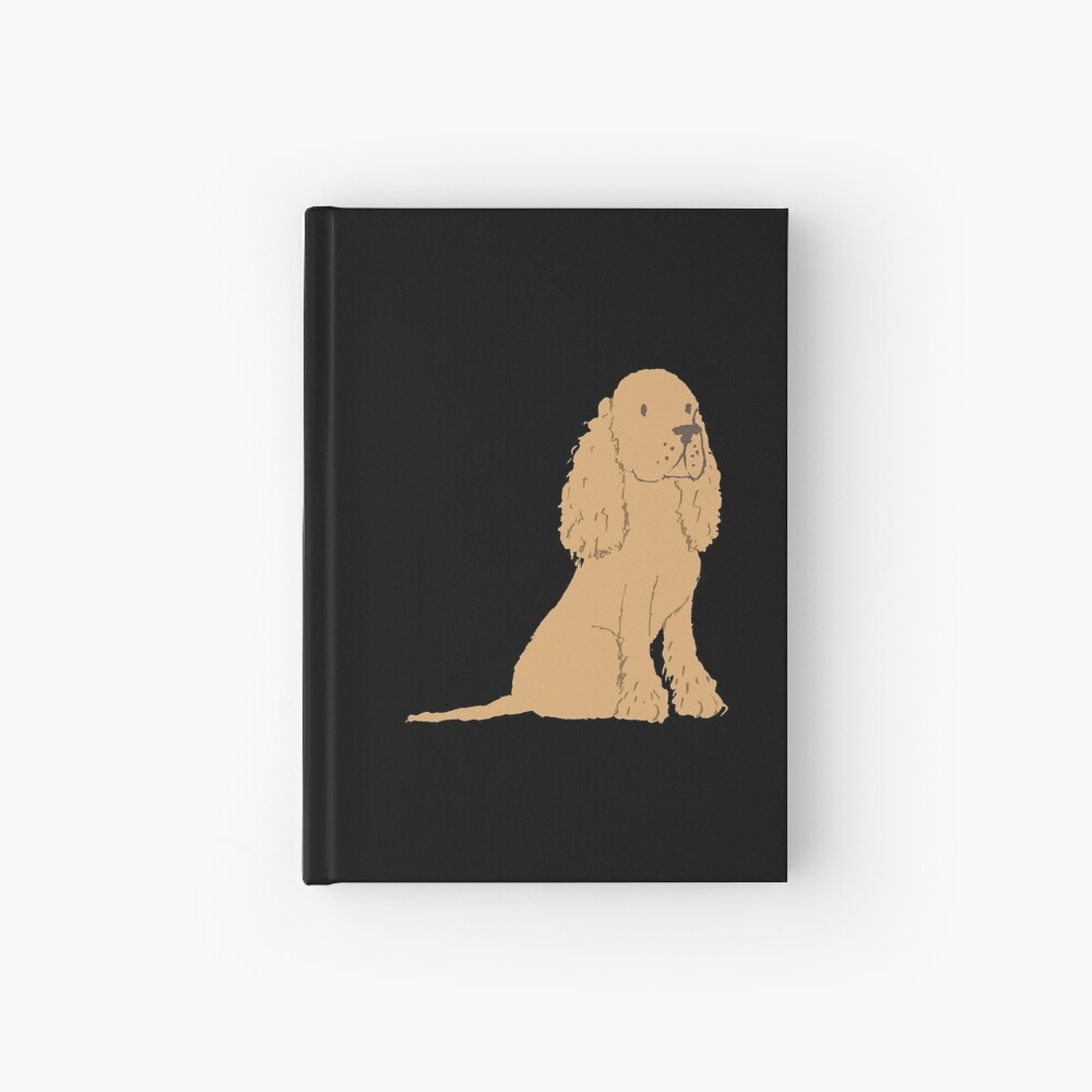 Golden Spaniel - Watercolor Style Spaniel Hardcover Journal