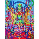 Eight Bones of the Spider Woman giclee with borders by Denise Weaver Ross