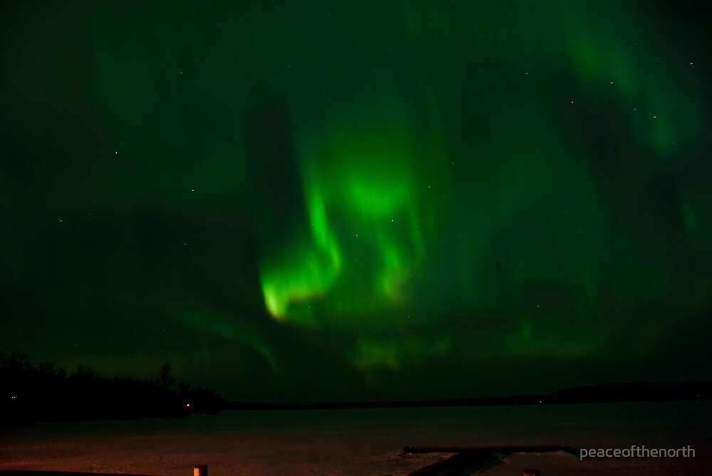 April 5th/10 Auroras...# 2 by peaceofthenorth