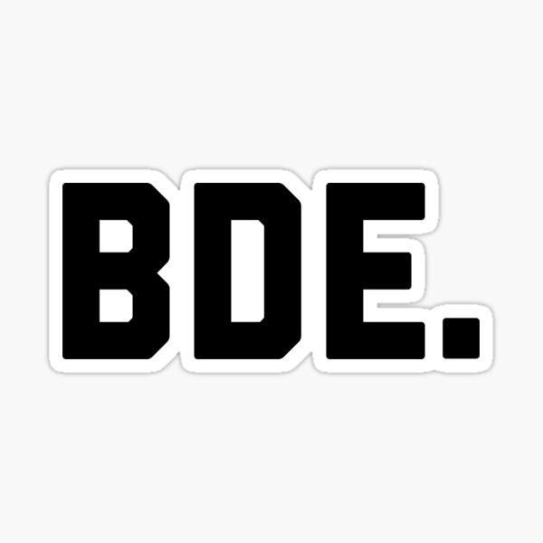 BDE Pegatina
