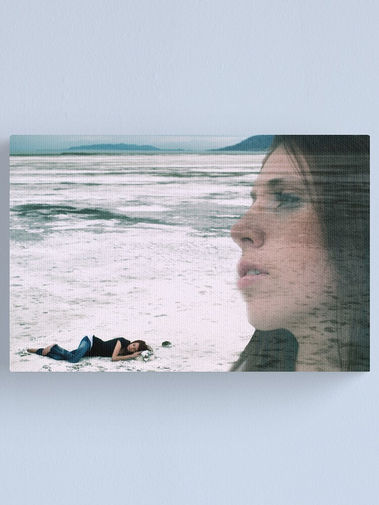 Alternate view of Dreaming with open Eyes Canvas Print