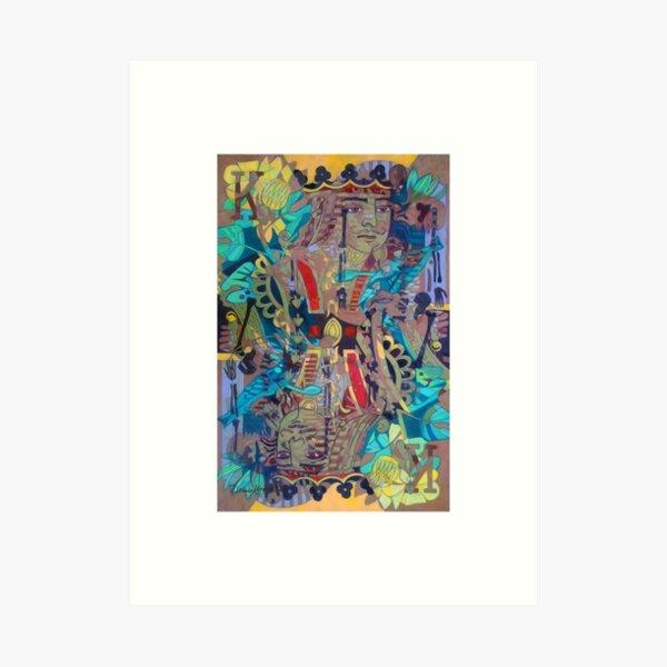 Kingly Bones with borders Art Print