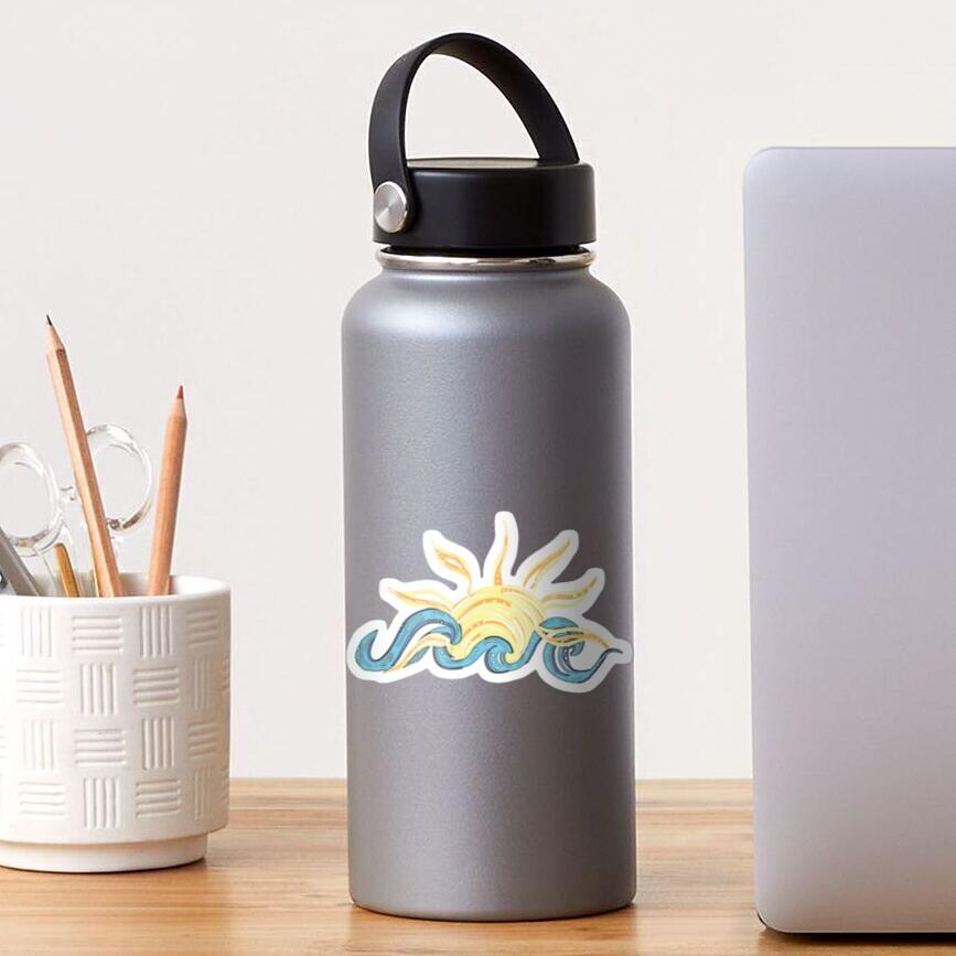 Ocean and Sun - Beach - gifts - trendy cute  Sticker