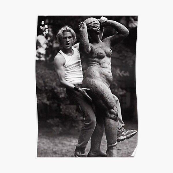 beautiful Heath Ledger Poster