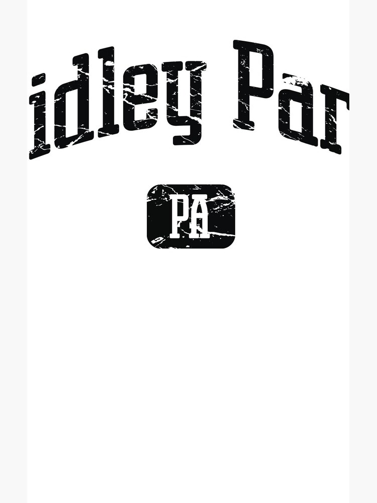 Ridley Park Pennsylvania PA Vintage Style Faded Tee from Hometown Tees de HometownTees