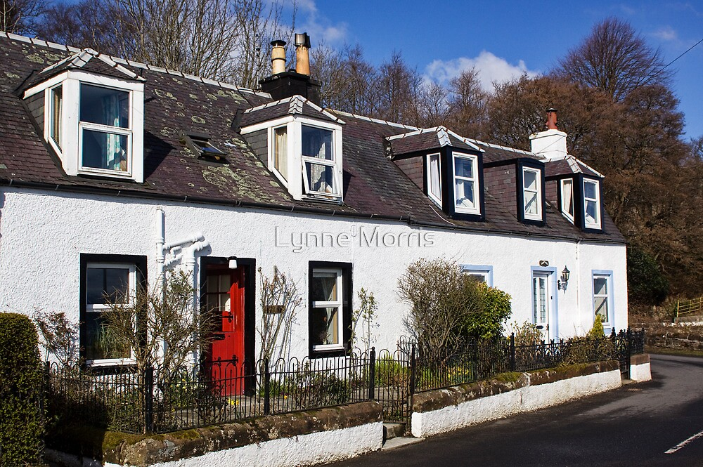 Corrie Cottages by Lynne Morris
