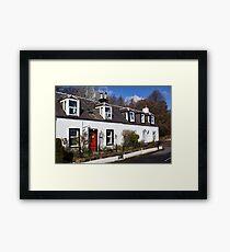 Corrie Cottages Framed Print