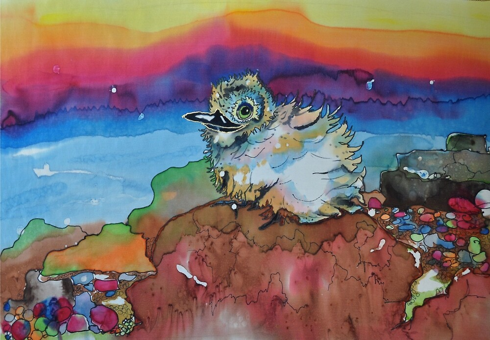Baby Sea bird by carolinescagel